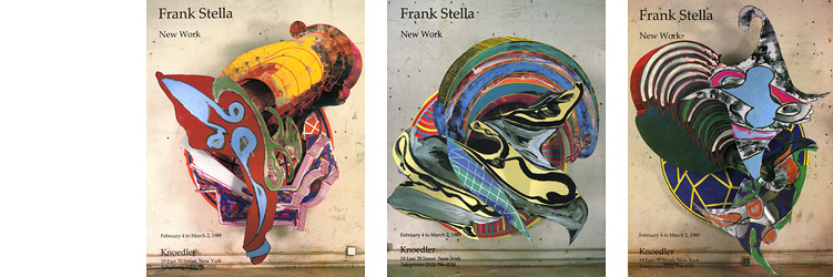 Frank Stella: New Works Promotion & Advertising