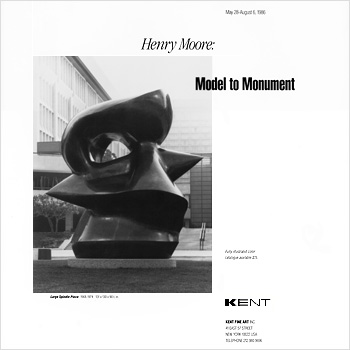 Kent Fine Art: Henry Moore Advertising & Direct Mail