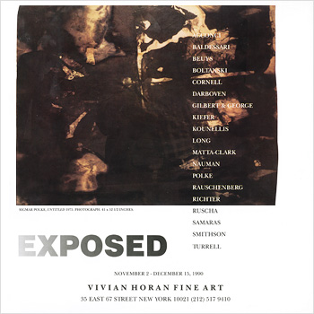 Vivian Horan Fine Art: Exposed Promotion